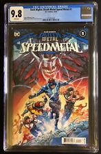 Dark Nights Death Metal Speed Metal # 1 CGC 9.8 DC Comics 2020 The Flash