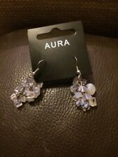 Aura Gemstone Lilac Earrings