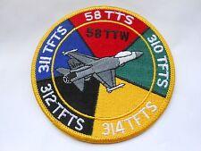 USA RAF cloth patch  combined units     58 TTW