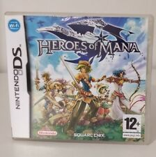 HEROES OF MANA NINTENDO DS ITALIANO COME NUOVO DS 2DS 3DS NO MANUALE SQUARE ENIX