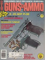 GUNS & AMMO June 1980 Guns of the Afghanistan Rebels Walther P38 .45 ACP Cops