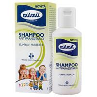 MilMil Shampoo Pidocchi Per Capelli Antiparassitario Per Bambini 100 ml