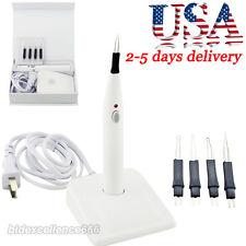 Durable White Dental Gutta Percha Tooth gum Cutter Endo Gutta Cutter + 4Tip【USA】