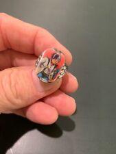 Captain Action BUCK ROGERS Vari-Vue 1960's Chrome Flicker Ring Great Sample