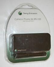 ORIGINALE SONY ERICSSON FOTOCAMERA TELEFONO KIT IPK-100 con Custodia e treppiede-NUOVO