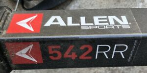Allen Sports 542 RR receiver hitch 4 bicycle bike carrying rack