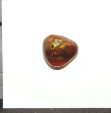 Fire Agate 13x11.5mm with 6mm dome Cabochon from Mexico (11091)