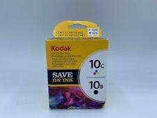 Kodak Ink Combo Pack 10B 425 Black 10C 420 Multicolor Ink New
