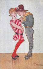 3416) SCOUTISMO, UMORISTICA DI BUSI, L'ESPLORATORE.