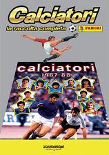 ALBUM PANINI CALCIATORI LA RACCOLTA COMPLETA 1987-88 1988 GAZZETTA DELLO SPORT