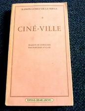 Ramon Gomez de la Serna    Ciné-Ville      Littérature espagnole