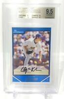 2007 BOWMAN DRAFT FUTURES GAME PROSPECTS CLAYTON KERSHAW RC #BDPP7 BGS 9.5