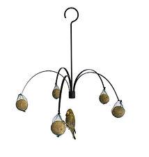 Meisenknödelhalter. Futterpalme zum Aufhängen Futterstation Vögel Spender Peküba