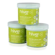 Hive Options Tea Tree Cream Wax With Natural Antiseptic Qualities 425g 425 G