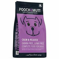 Pooch & Mutt - Complete Dry Dog Food - Calm & Relaxed (Grain Free & 100%