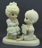 Precious Moments 1989 Wishing You A Perfect Choice #520845 signed