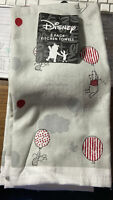 2 Pack Disney Winnie The Pooh Piglet Balloons Gray Red White Kitchen Towels
