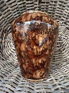 Vintage Australian Pottery —- Bendigo Waverley Ware Pottery Vase