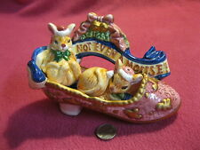 Christmas Carol Shoe Mouse Salt and Pepper Shakers Hermitage Loomco 93