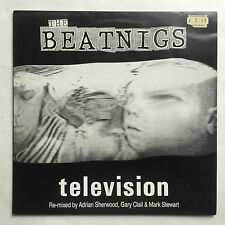 THE BEATNIGS - TELEVISION * 12 INCH VINYL * FREE P&P UK * VIRUS 71T *