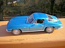 Maisto - 1965 Chevrolet Corvette - Blue - 1:18 Diecast - Special Edition - NEW