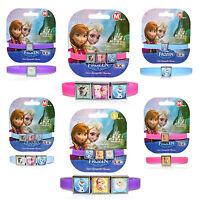 Official Disney Princess Frozen Anna Elsa Olaf Girls Charm Gummy Band New Gift