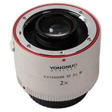 Yongnuo yn-2x Iii teleconvertidor Extensor Autofocus Lente Para Canon Eos Ef Cámara