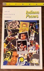 VTG 1989-90 NBA INDIANA PACERS MEDIA GUIDE & YEARBOOK HOF REGGIE MILLER & More