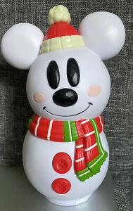 Candy Box Mickey Disneyland Paris snowman With coconut Candy Christmas Disney