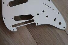 Roland USA Strat Guard Fender Stratocaster Pickguard Strat 3 PLY white VG