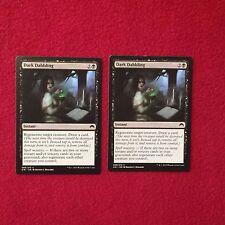 MTG X2 Dark Dabbling Origins Magic the Gathering Black Instant Cards