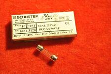 25 x 7A Domestic Household Mains Plug Top Fuse Cartridge 2.5cm 25.4 x 6.3mm