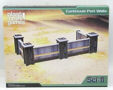 Plast Craft Games SF002 Continuum Port Walls (Sci-Fi ColorED) Spaceport Terrain