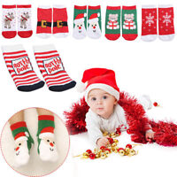 Unisex Christmas Kids Soft Fluffy Socks Warm Winter Cosy Lounge Bed Xmas Gifts