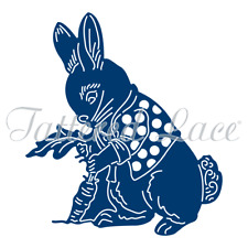 Tattered Lace BUNNY'S LUNCH - Craft Cutting Rabbit Die - TLD0335 - FREE UK P&P