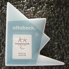 2018 PyeongChang Winter Paralympic Ottobock Pin