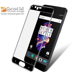 3D Curved Full Cover Tempered Glass Screen Protector For Oneplus 3 3T Oneplus 5