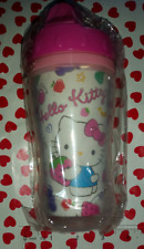 NIP SANRIO Classic style Hello Kitty Pink Strawberry Fruit Travel Cup - BPA FREE