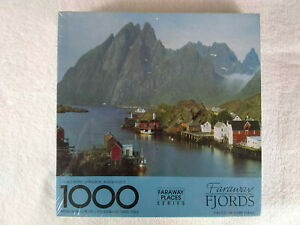 Springbok 1000 Piece Jigsaw Puzzle NEW Faraway Fjords Faraway Places Series