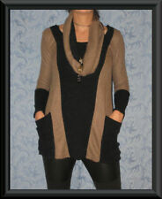 Unbranded Polyester Geometric Jumpers & Cardigans for Women