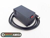 Amiga PSU. Power supply for Commodore Amiga A500, A600, A1200 BLACK (US plug)