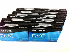Sony DVM60PRR Premium Mini DV Minidv Camcorder Digital Video 60min Tape 10 Pack