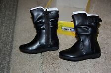 Smart Fit Black Girls Boots Size 8 NWT