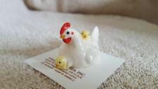 Hagen Renaker Hen With Chicks Figurine Miniature Gift 04003