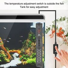 Submersible Aquarium Water Heater Adjustable Water Heating Rod For Fish Tank New