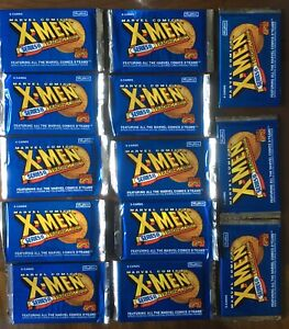 1993 Marvel X-Men Series 2 Trading Cards (13) Factory SEALED Packs! SkyBox