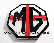 NEW Chrome Enamel England St George Flag MG Car BADGE ZR ZS ZT UK