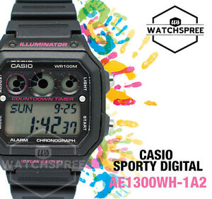 Casio Standard Digital Watch AE1300WH-1A2
