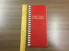 Harco Bank Vault Stamp Stock Book - Stockbook With Manila Pages