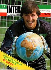 INTER FOOTBALL CLUB=N°8 1989=POSTER GIGANTE INTER 89/90 NON SPILLATO=ZENGA COVER